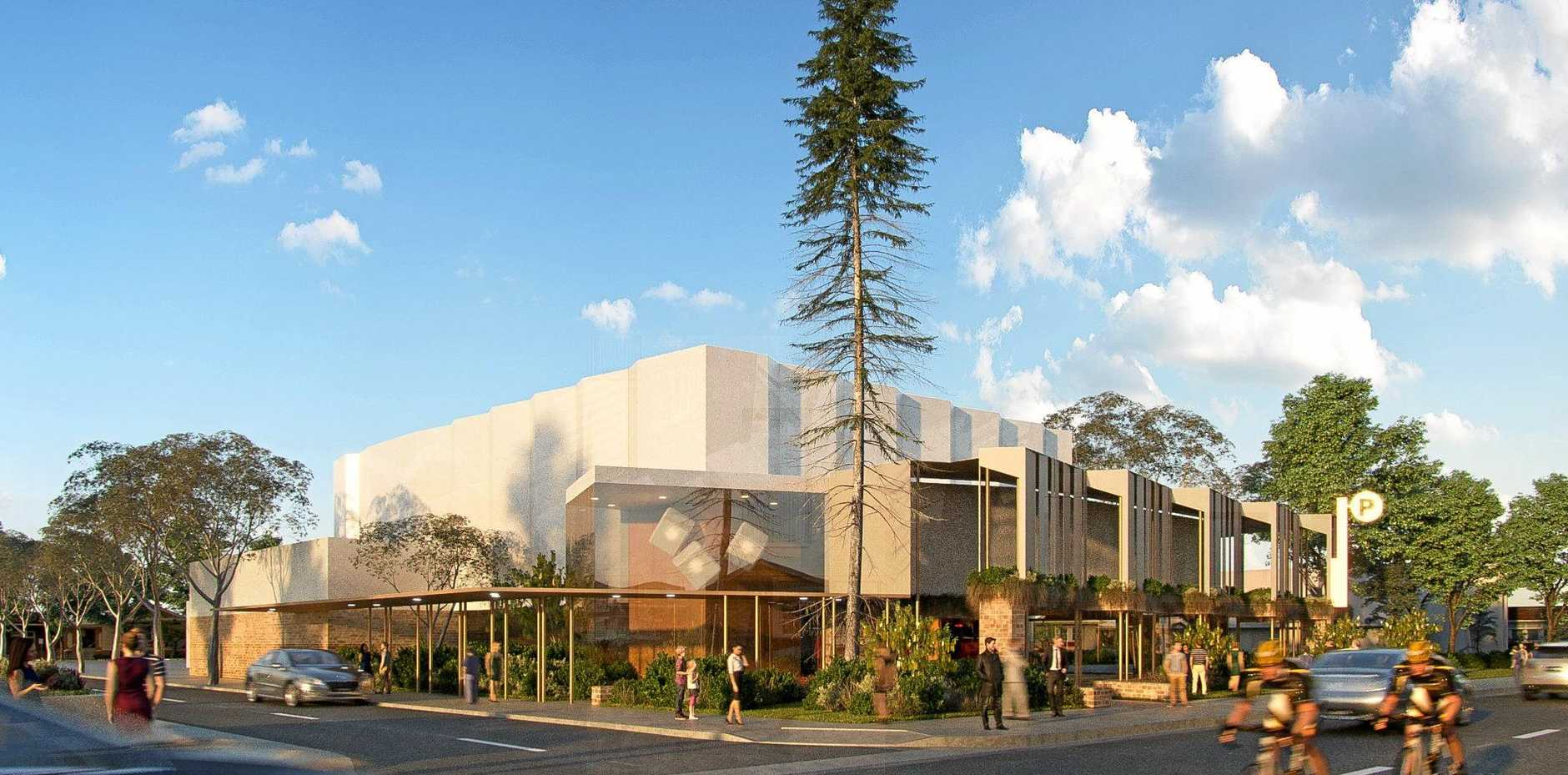 SLICK: The first look at the new Proserpine Entertainment Centre design.