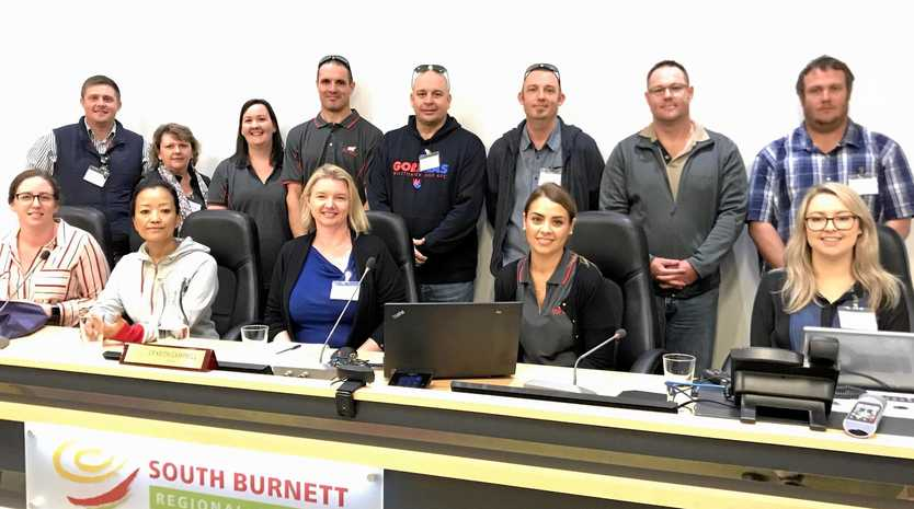 The council delegates from the Propeller Programme visited South Burnett Regional Council to learn about local government on May 15.