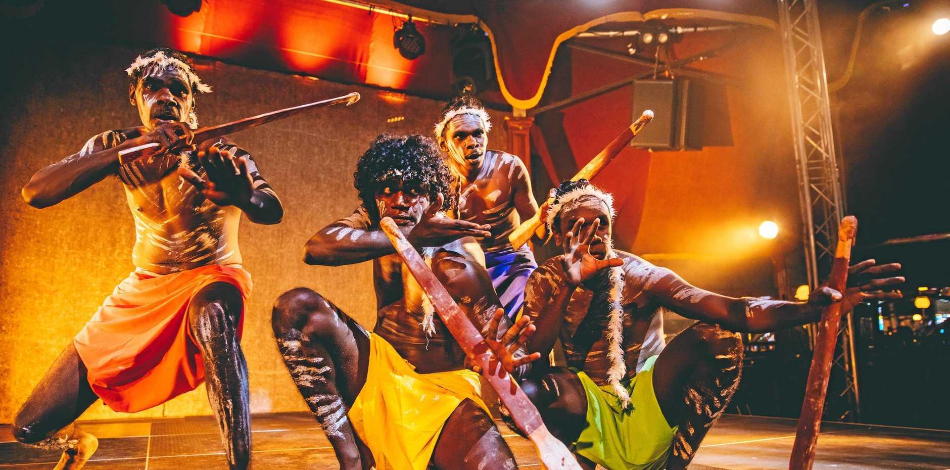 Do not miss indigenous dance sensation Djuki Mala.