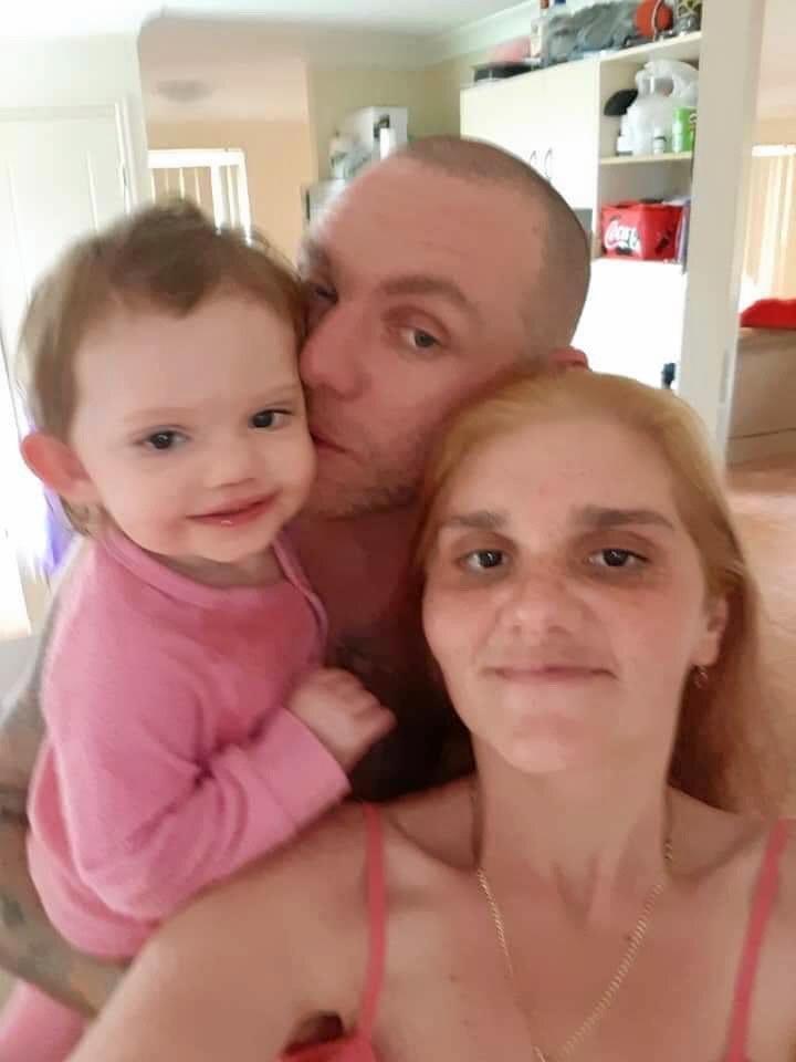 Natasha and her kids Mason, Amateil and partner Anthony.