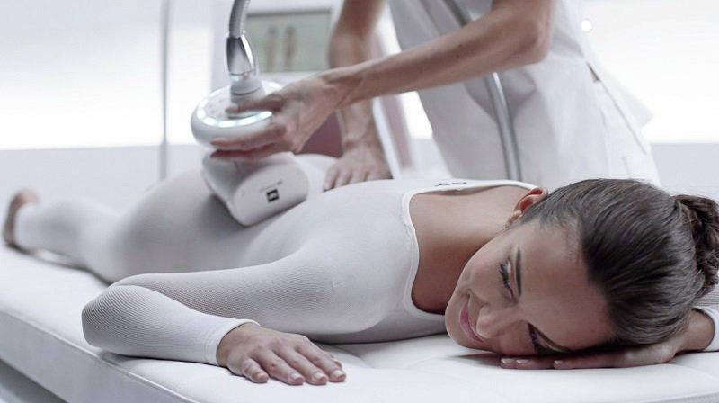 SPECIAL TREATMENT: The French-based endermologie system at work.