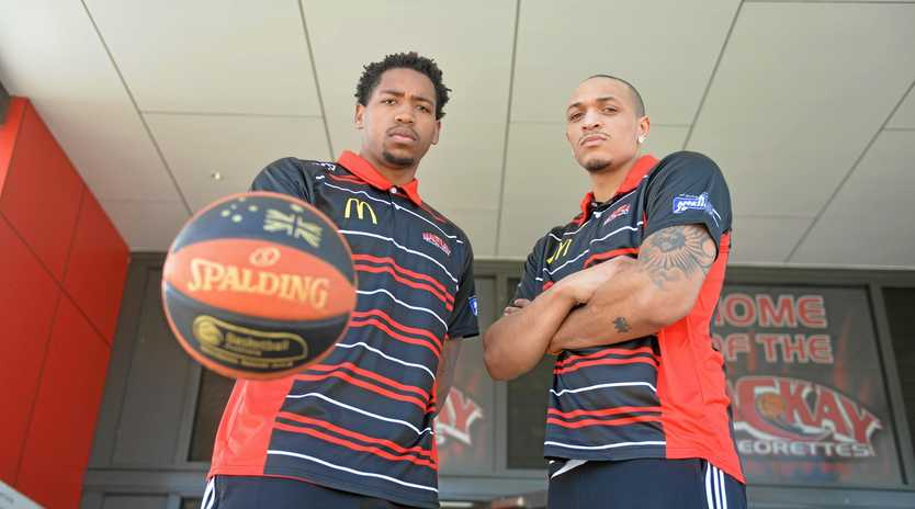 Meteors imports Bryce Washington and Derick Newton are ready for their QBL Round 4 road-trip to Toowomba and Brisbane.