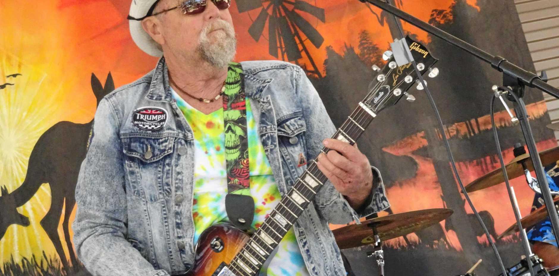 Fraser Coast musician George McLean lost his battle against kidney disease last year.