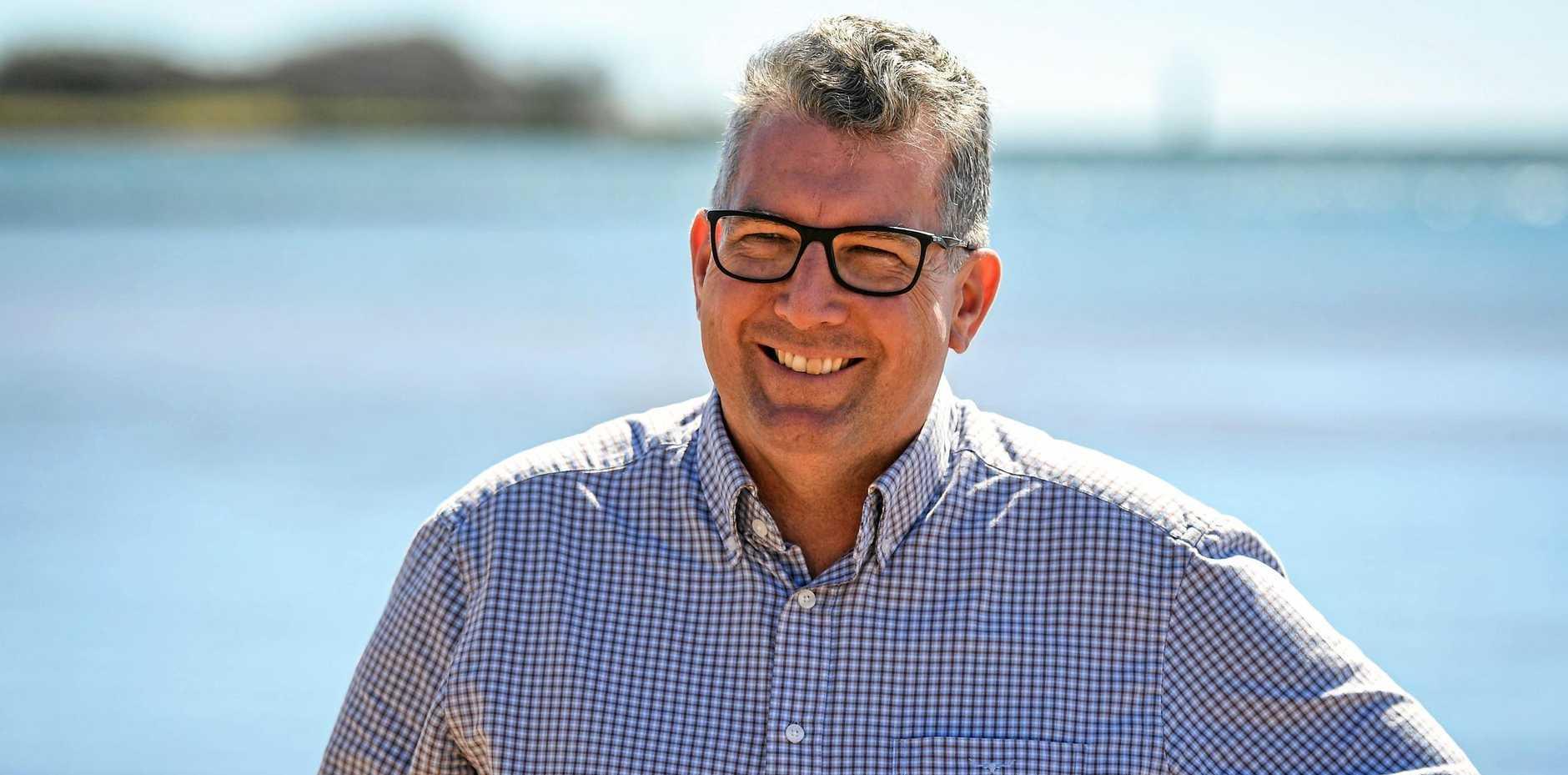 STILL GETTING REPRESENTATION: Hinkler MP Keith Pitt says he has an electorate office in Hervey Bay, despite living in Bundaberg.