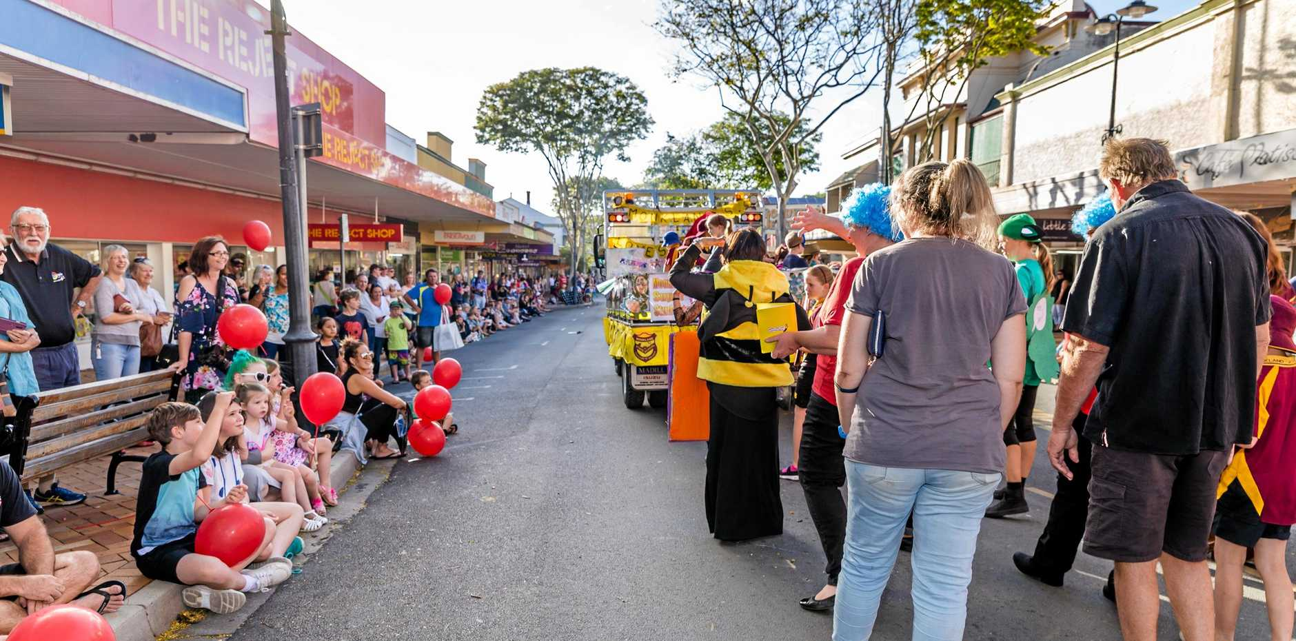 A Gympie Gold Rush parade 2016 - Gympie Regional Council is considering a big change to this year's Gold Rush Festival by including a Friday night parade instead of a Saturday daytime parade.