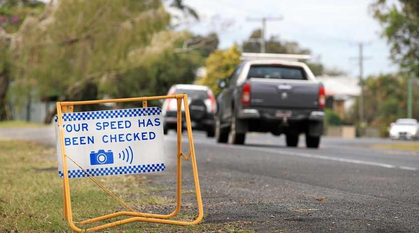 NSW RTA Speed Camera.