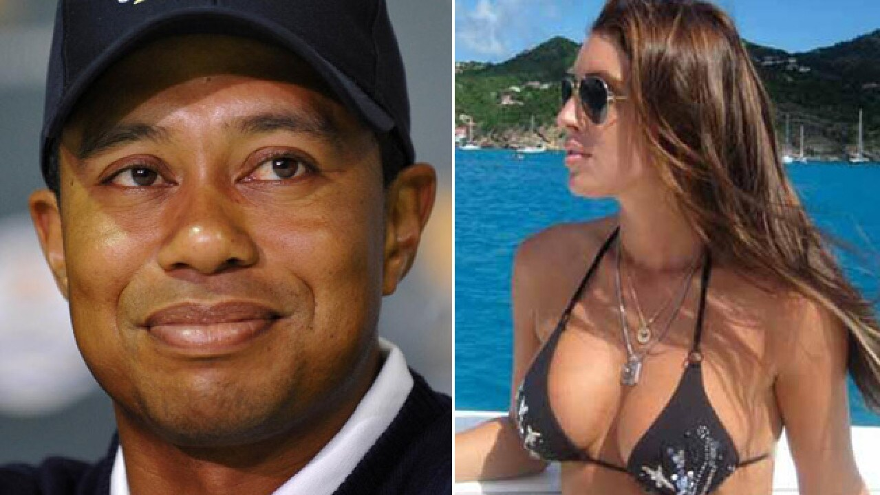 Tiger Woods and Rachel Uchitel.