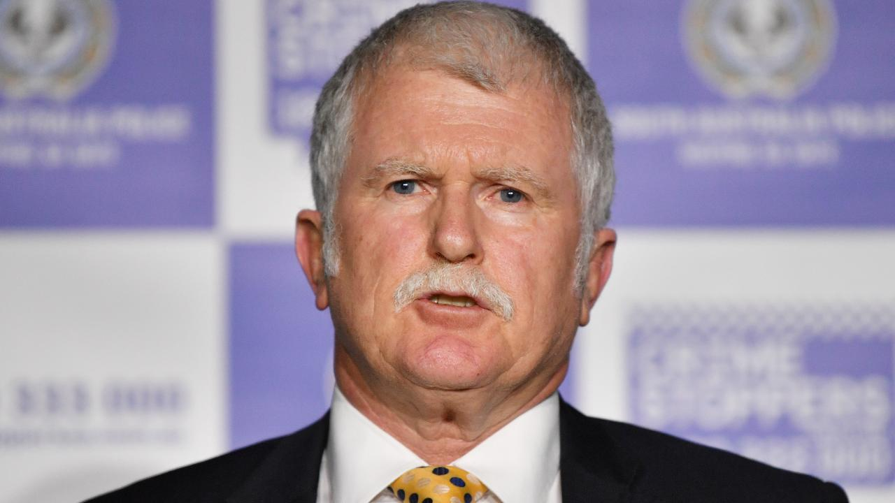 Major Crime officer-in-charge Detective Superintendent Des Bray. Picture: David Mariuz/AAP