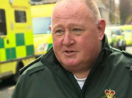 Andrew Beasley worked for the London Ambulance Service. Picture: BBC