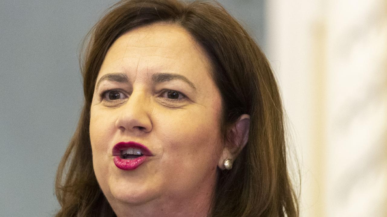 Premier Annastacia Palaszczuk. Picture: AAP/Dave Hunt