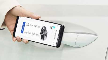 Hyundai's digital key