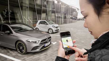 Mercedes's digital keys are on the way.