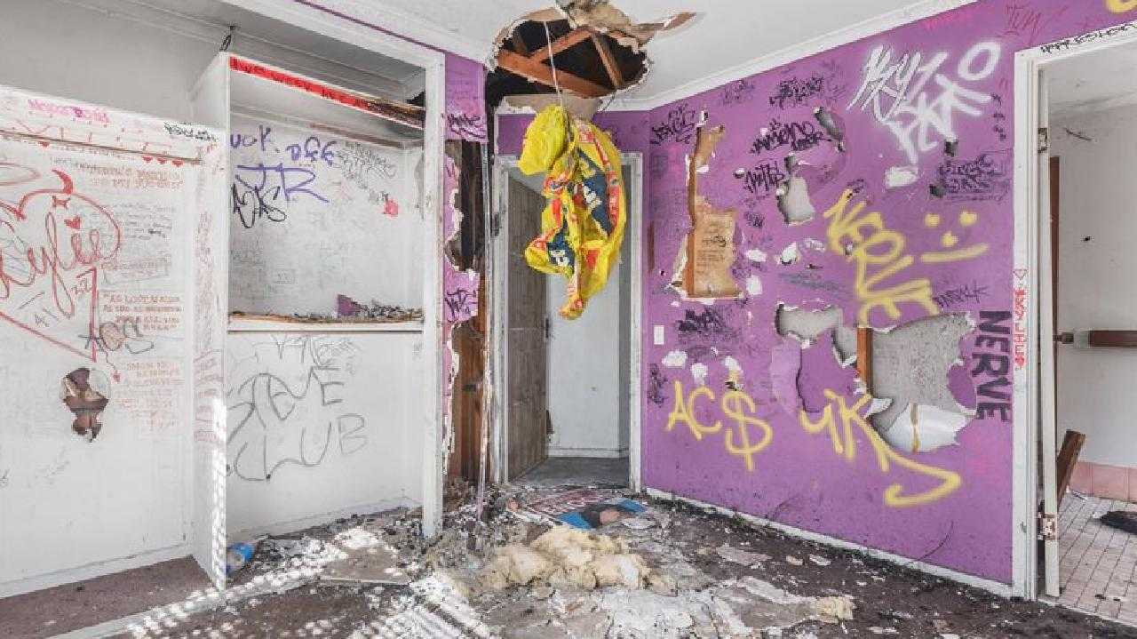 This house at 47 Birch St, Marsden, has been dubbed the worst in Brisbane.
