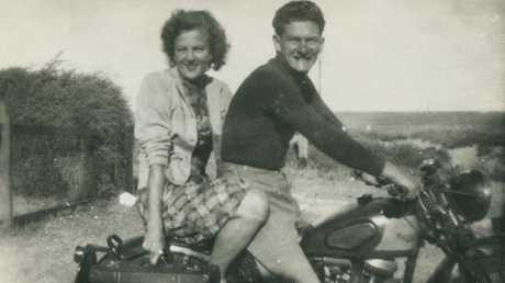 Bob Hawke with his future wife Hazel Masterson in 1951.