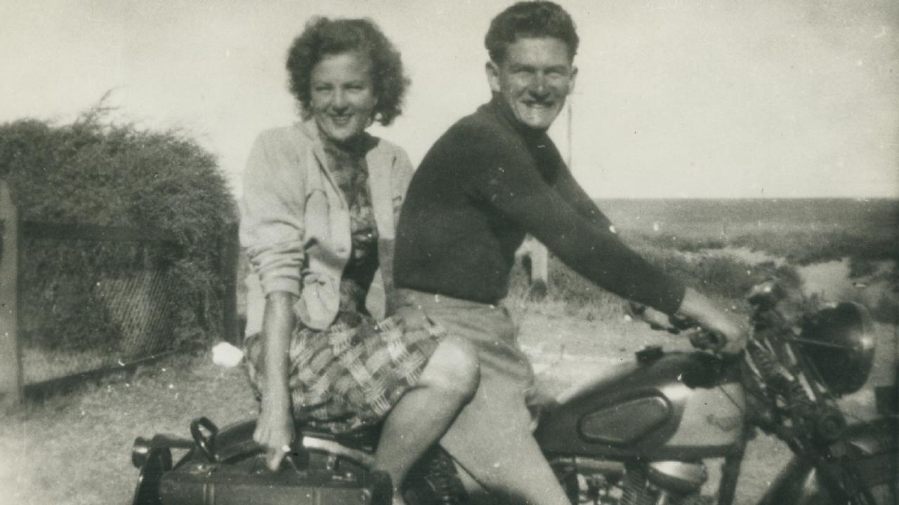 Bob Hawke with his future wife Hazel Masterson in 1951.
