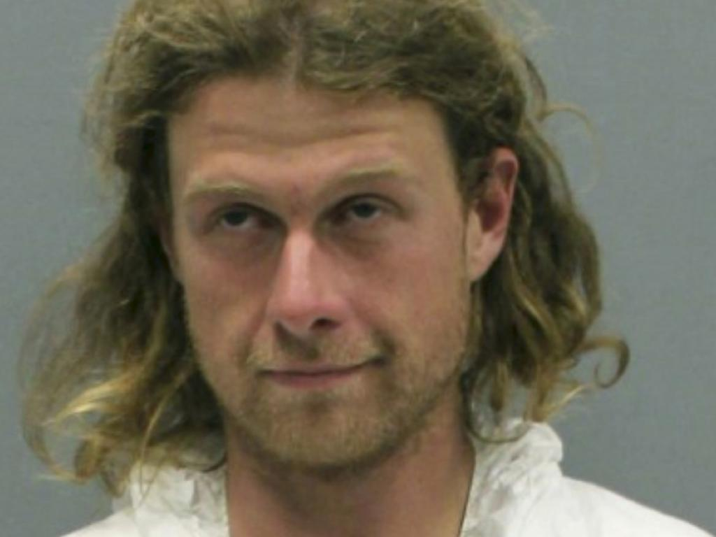 James Jordan, also known as 'Sovereign', has been charged with murder and assault over a knife attack on the Appalachian Trail. Picture: Washington County, Virginia, Sheriff's Office