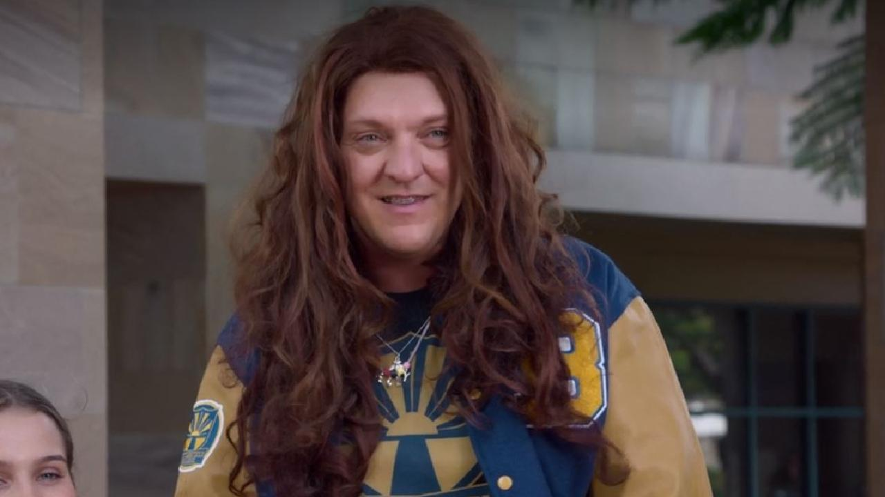 Chris Lilley's new Lunatics character is similar to another Youtube character from 2012.