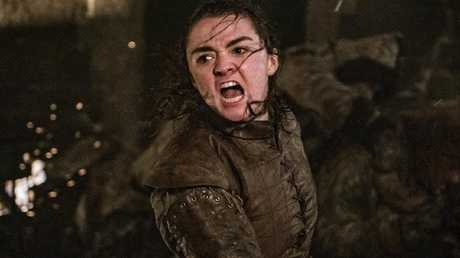 Arya's already pulled off a very impressive kill this season. Picture: Foxtel