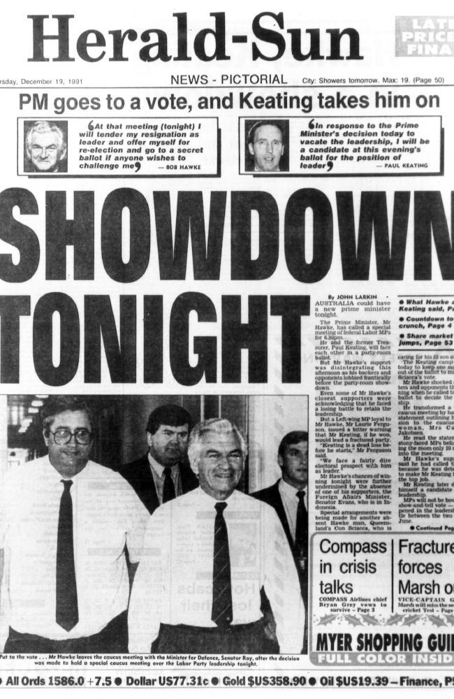 December 19, 1991: Keating makes his move.