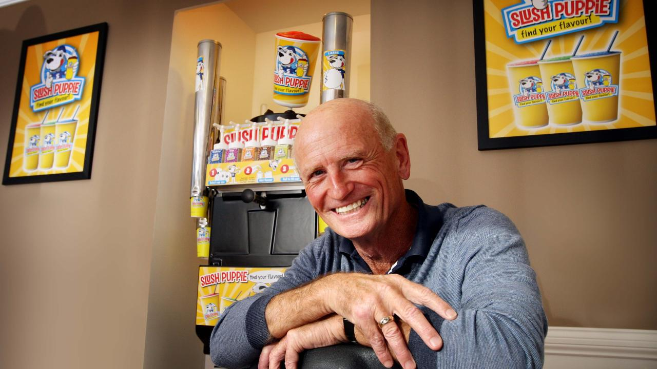Murray Stafford at Slush Puppie HQ on the Gold Coast in 2010. Pic by Luke Marsden.