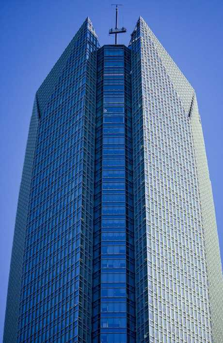 The 260-metre Devon Tower. Picture: AP