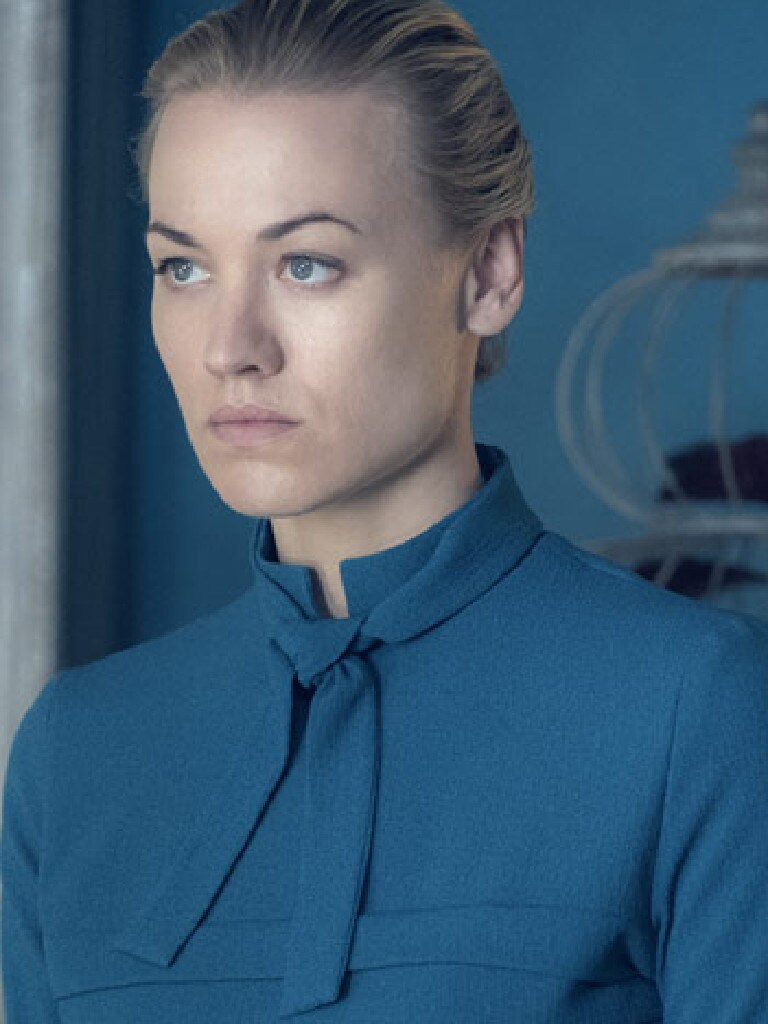 Yvonne Strahovski in The Handmaid's Tale. Picture: Supplied