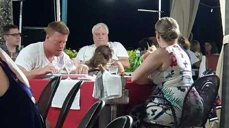 A social media image showing Clive Palmer in Fiji as the final week of the 2019 Federal Election campaign began.