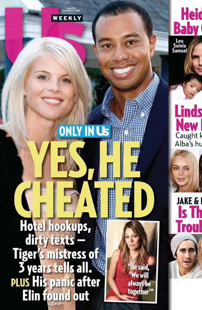 Cover of US Weekly on December 4, 2009.