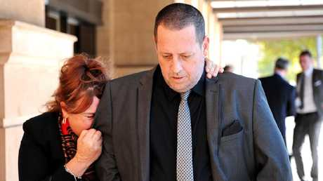 Janet Wells and Steven Egberts have fought for three years to discuss the role Families SA played in the lead-up to the murders. Picture: Greg Higgs.