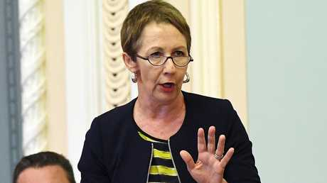 Child Safety Minister Di Farmer has announced new beds at Wacol, but they won't be ready until late in 2020. Picture: AAP/Dan Peled
