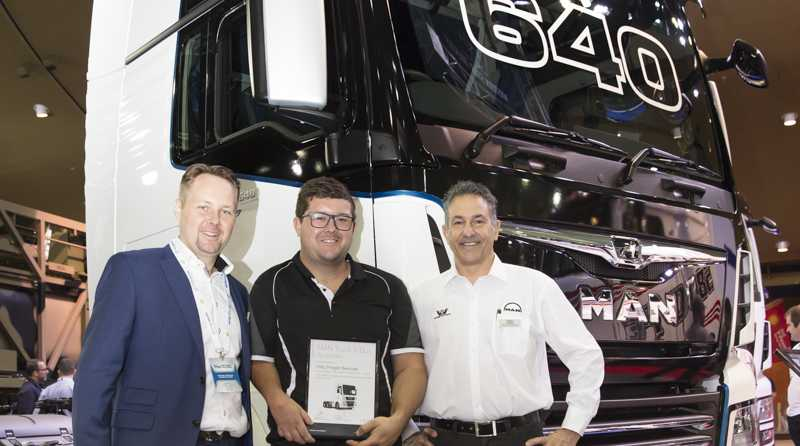 MAN Truck and Bus are at the Brisbane Truck Show.