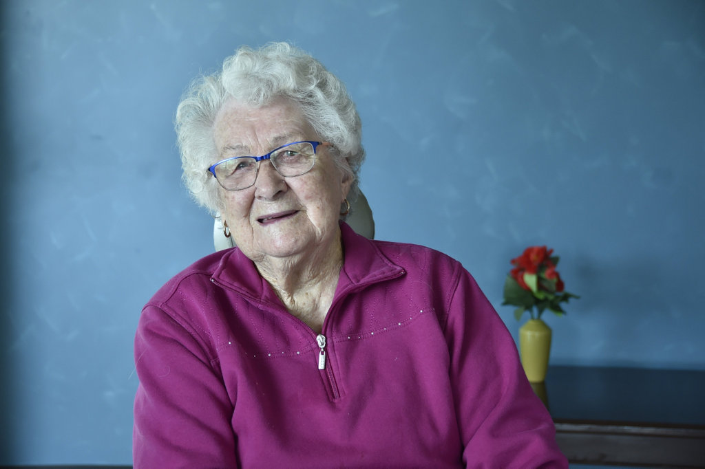 Mary Holman, 92 talks about how elections have changed over the years. May 2019