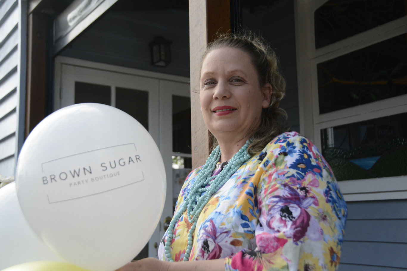 Jessica Brown is getting ready to open Brown Sugar Party Boutique in June