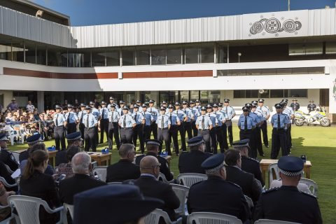 First Year Constables were sworn into the Queensland Police Service on Thursday 16/05/19