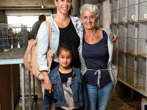 Signe Langi, Grethe Lund and Astrid Langi at the