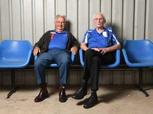 Graham Bruin and John Stark at the Ipswich Show on