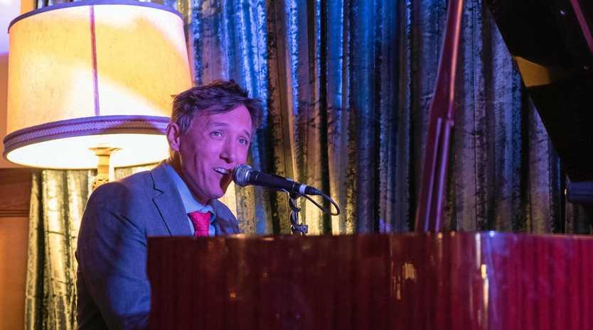 PIANO MAN: Dan Bolton playing at last year's Nambour Winter Jazz Festival.