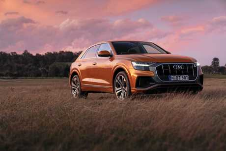 The Audi Q8 is the marque's flagship SUV.