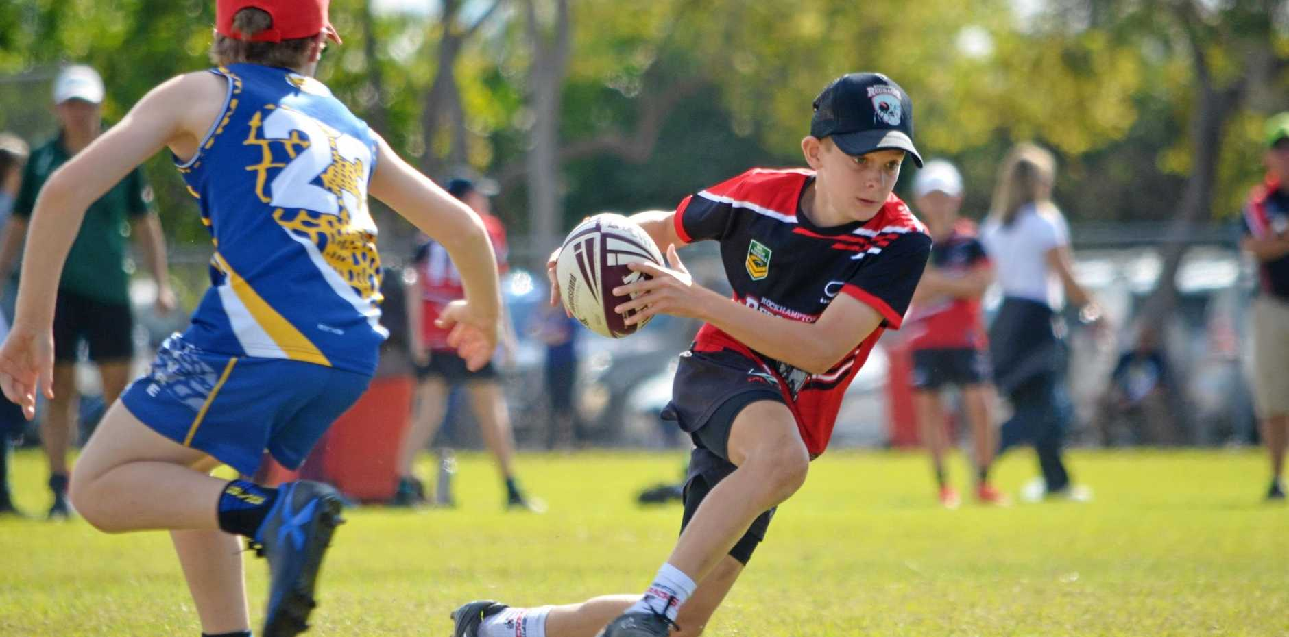 ONE TO WATCH: Queensland representative Clancy Hohn will line up with the Rocky Red under-14 boys team this weekend.