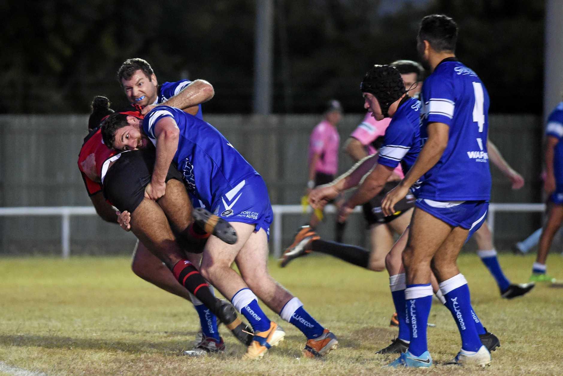 Bundaberg Rugby League: Wallaroos v Wests Panthers at Eskdale Park, Maryborough.