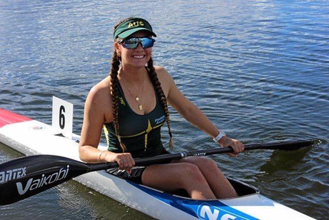 ON THE WATER: Jenaya Massie.