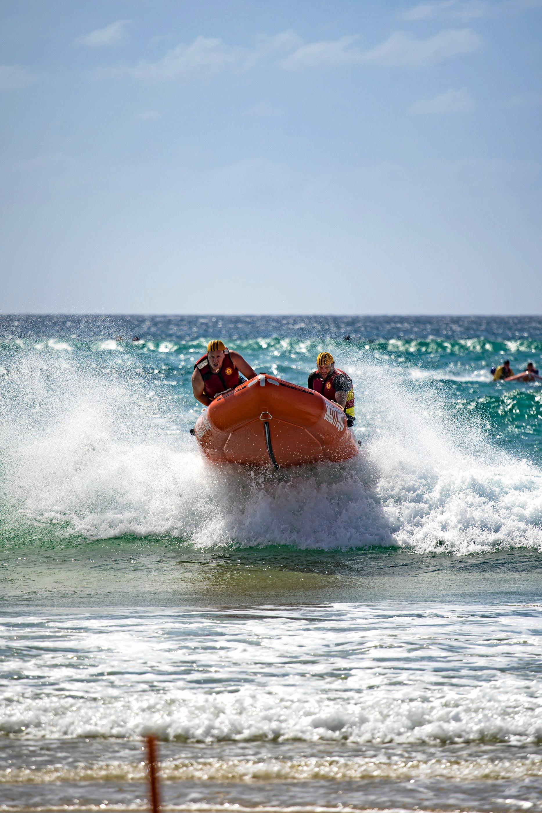 HOLDING ON: IRB action from North Kirra.