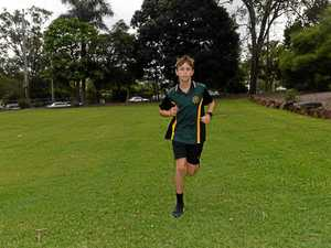 Young Gympie running champ sets sights on Olympics