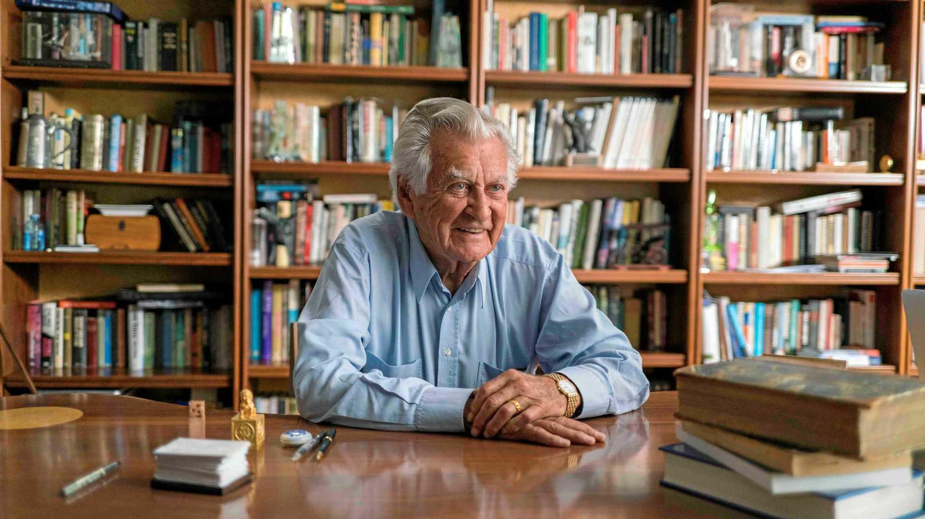 Bob Hawke has been remembered by former Rockhampton MP Robert Schwarten