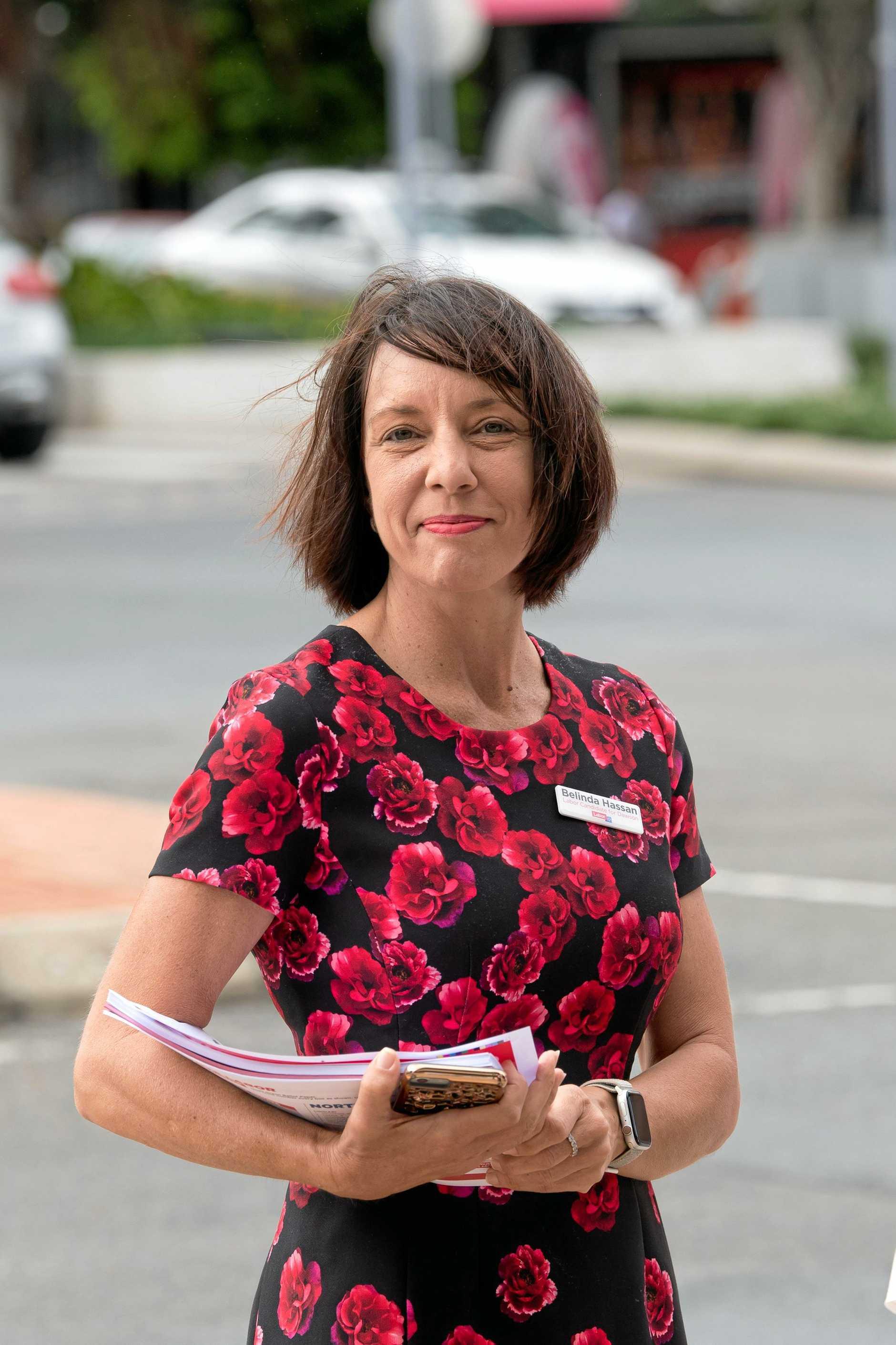 Dawson candidate Belinda Hassan.