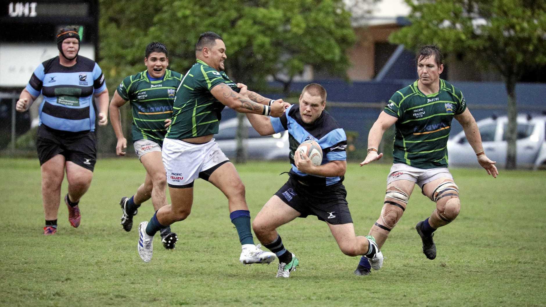 Rugby union - Maroochydore Swans player Jordan Ryan.