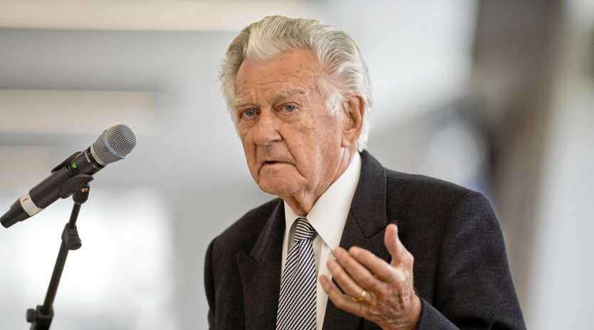 LEGEND: Former Prime Minister Bob Hawke died on Thursday.
