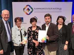 Toowoomba's flood management project wins national award