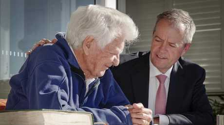 Bob Hawke and Bill Shorten met earlier this week in Northbridge.