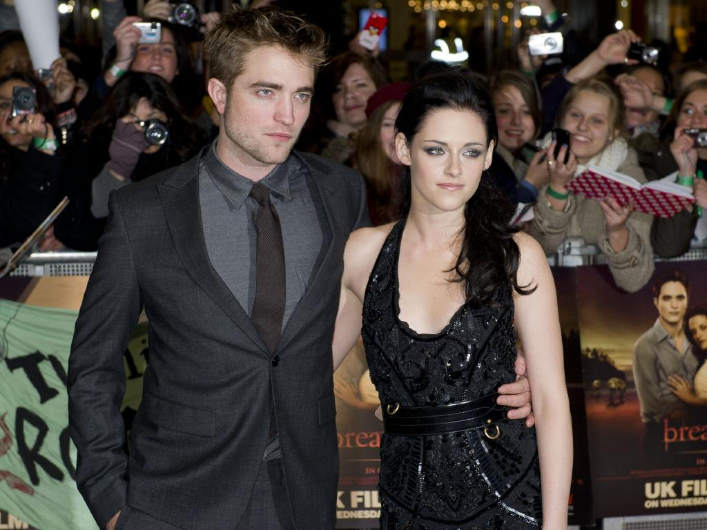 Robert Pattinson and Kristen Stewart have shunned commercial movies since Twilight. Picture: AP Photo/Jonathan Short
